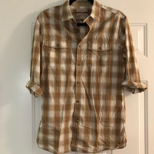 Banana Republic heritage button up shirt